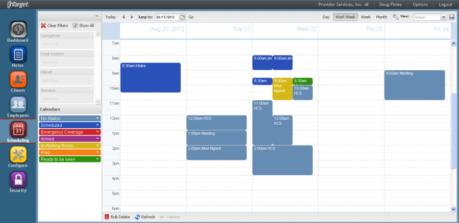 Things to keep in mind about scheduling and notes – OnTarget